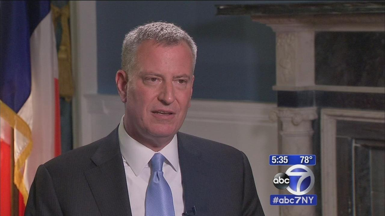 Upclose Preview: de Blasio interview