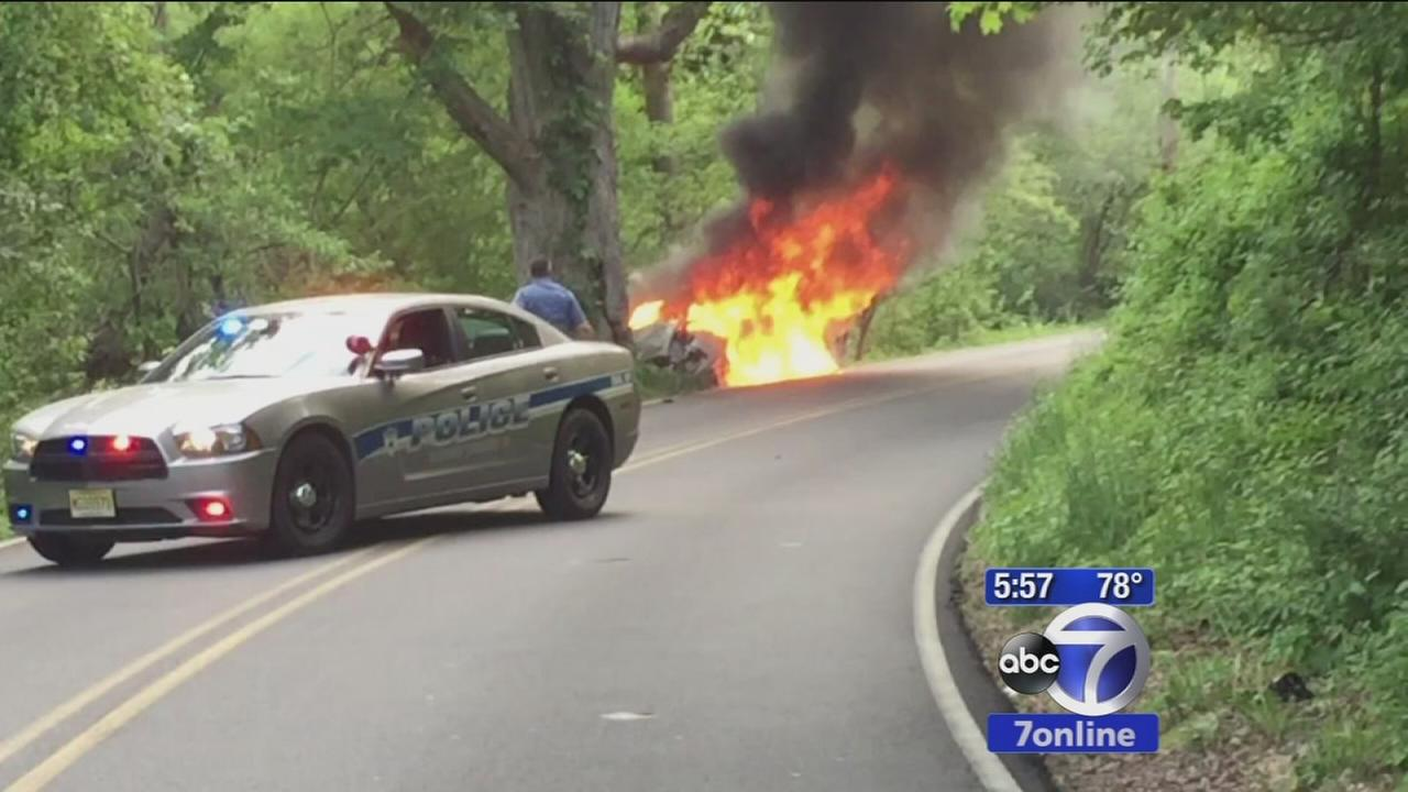 Good Samaritan saves teen driver from fiery crash