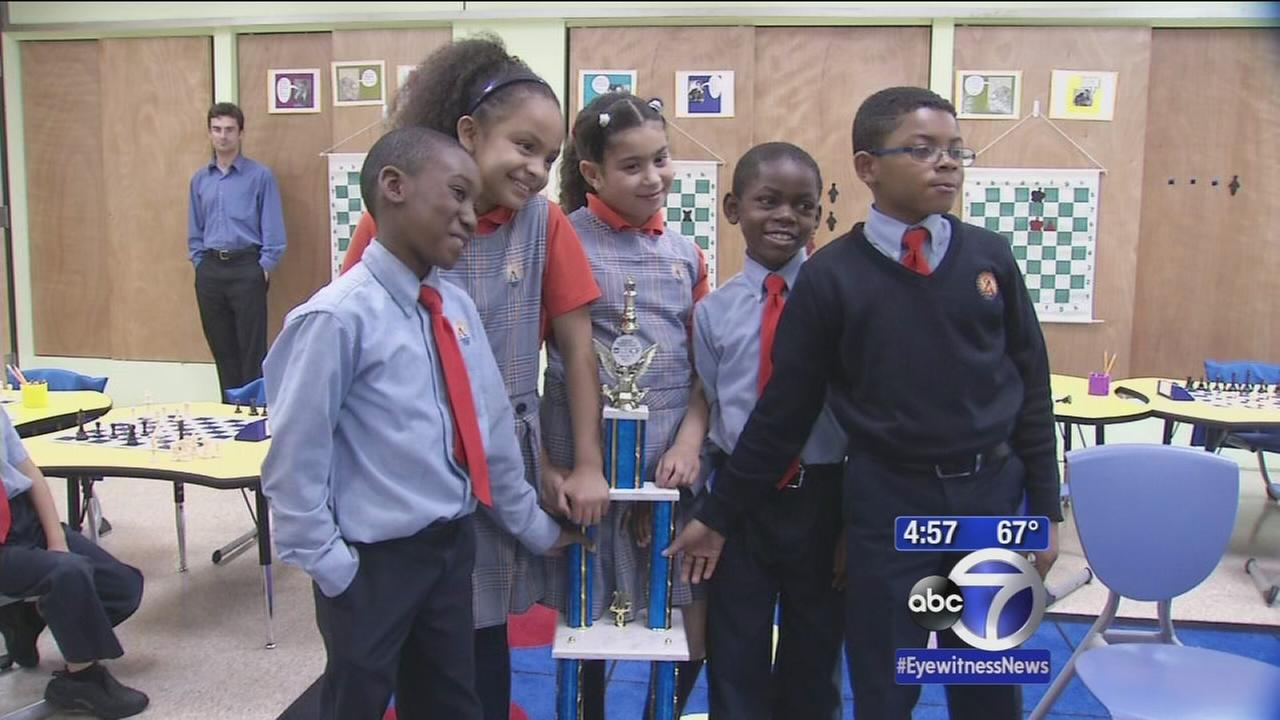 Child chess champions hail from NYC