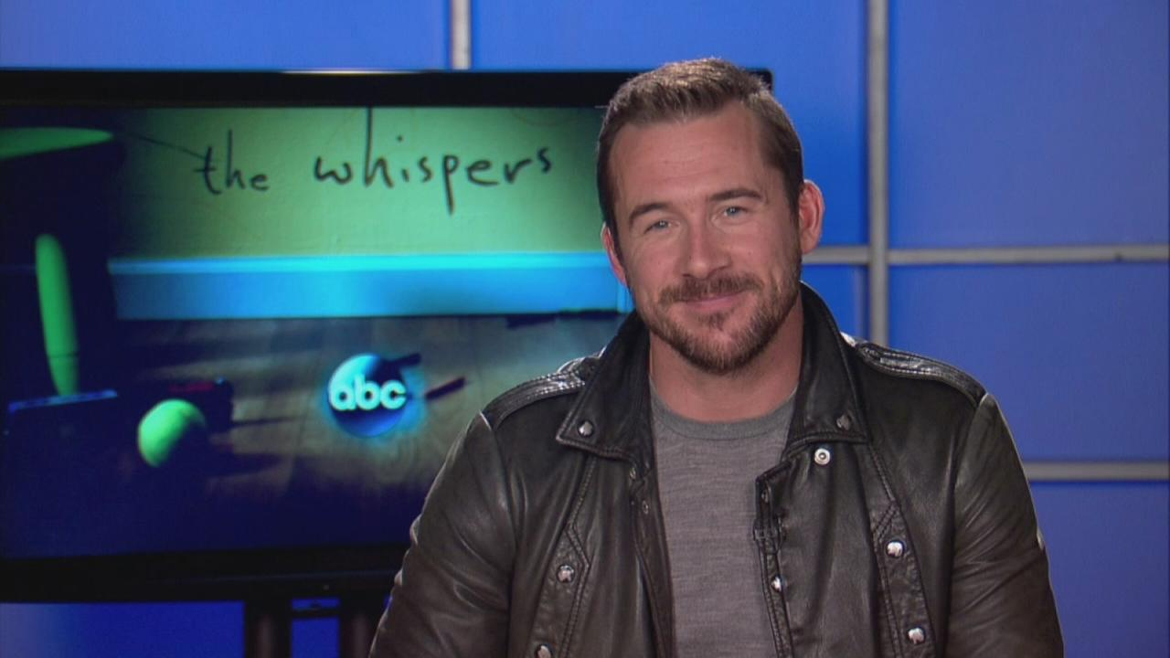 Barry Sloane of The Whispers talks about the new thriller series on ABC