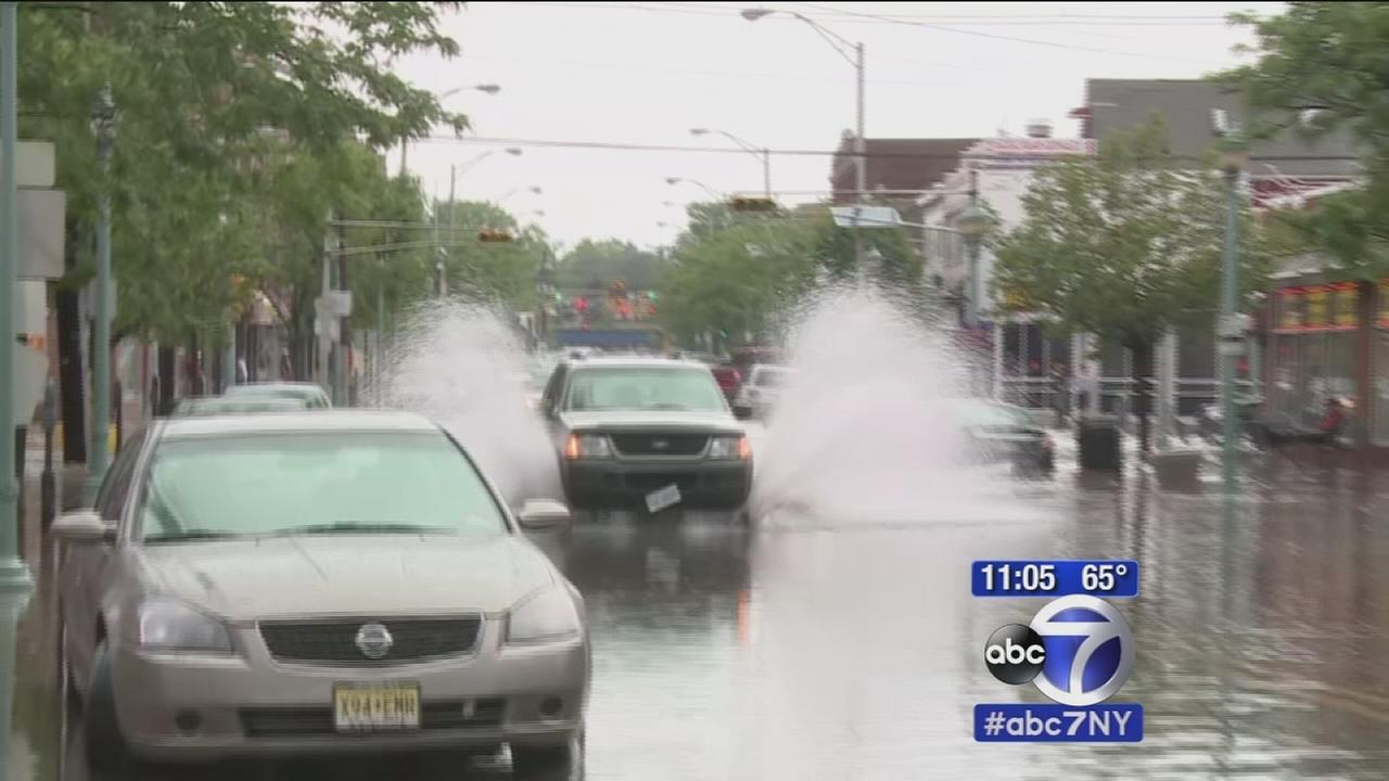 New Jersey hit hard with flooding, heavy rain