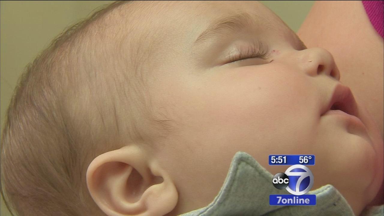 Moms intuition, liver transplant saves babys life