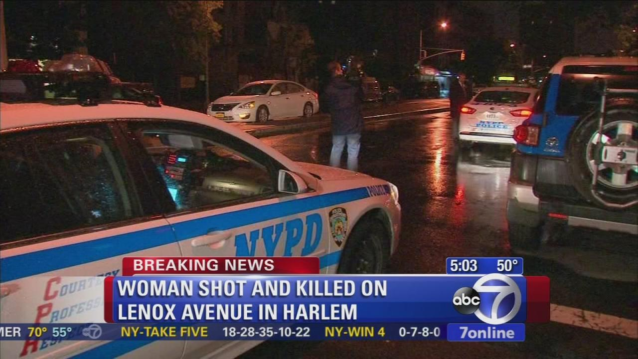 39-year-old woman found fatally shot in Harlem