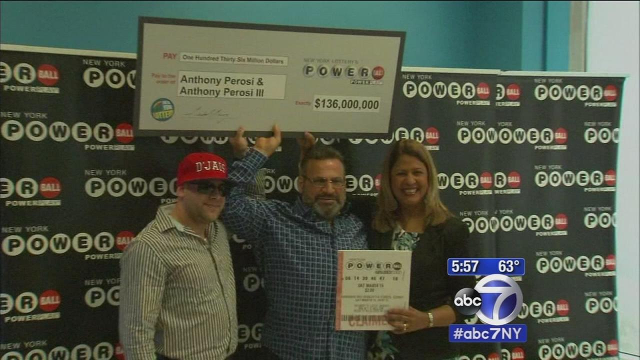 NYC plumber wins Powerball jackpot, leaves ticket pinned to wall for 6 weeks