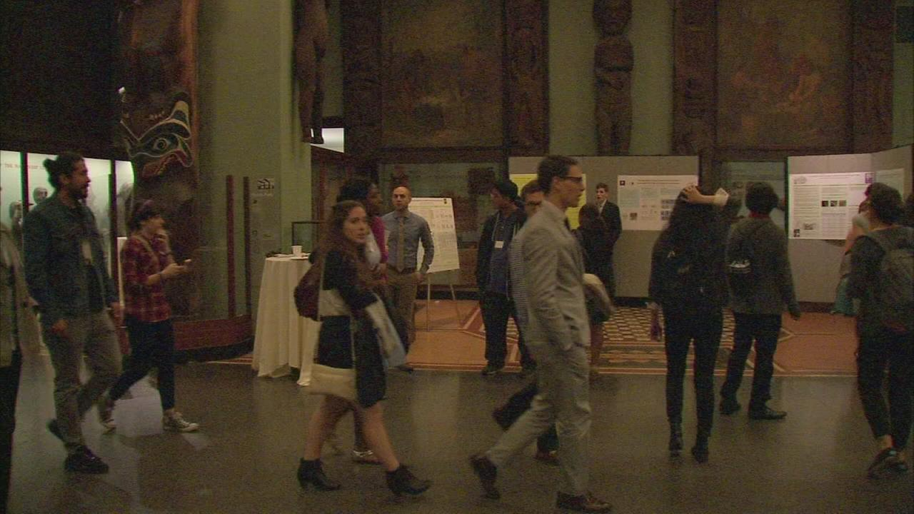 Students present original scientific research at American Museum of Natural History