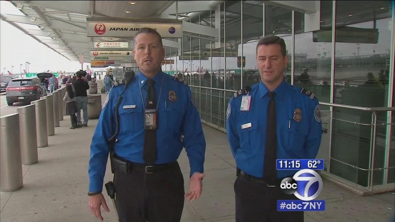 TSA officers save woman choking on doughnut