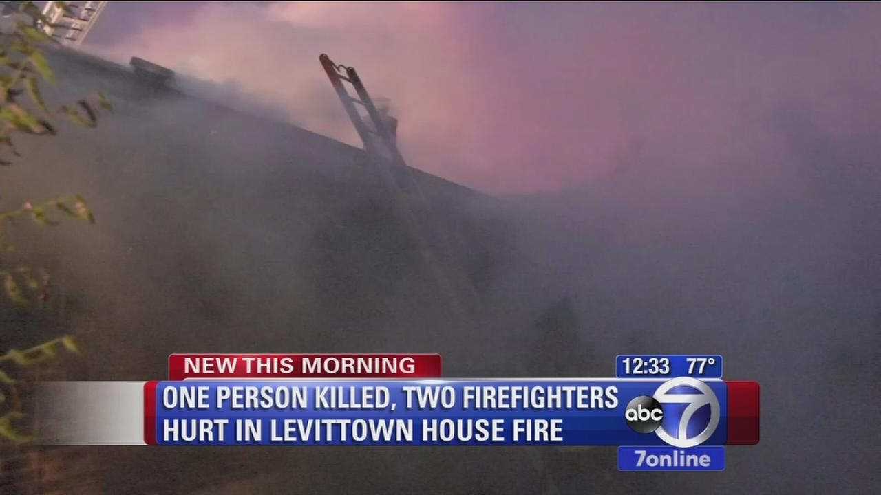 levittown house fire
