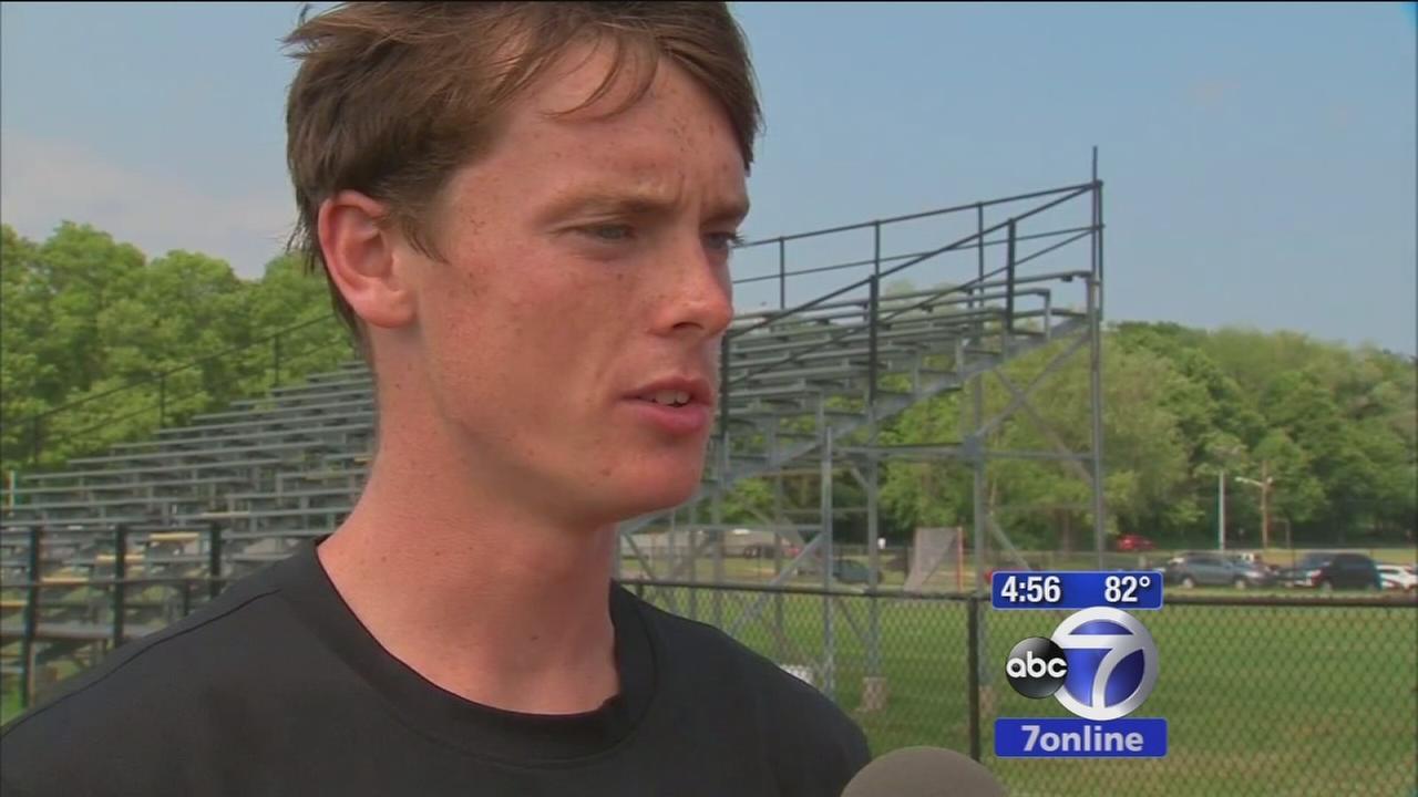 Long Island high school senior overcomes autism to break records