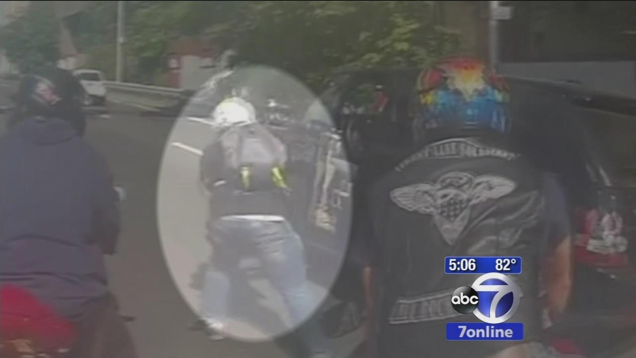 NYPD detective guilty of some charges in biker melee
