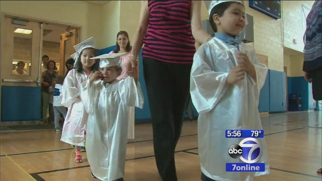 Special graduation ceremony for young cancer patients