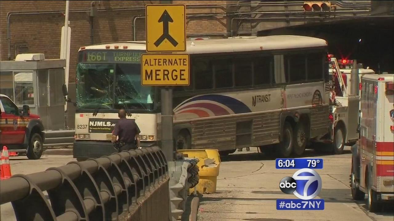Lincoln Tunnel Car Accident Today