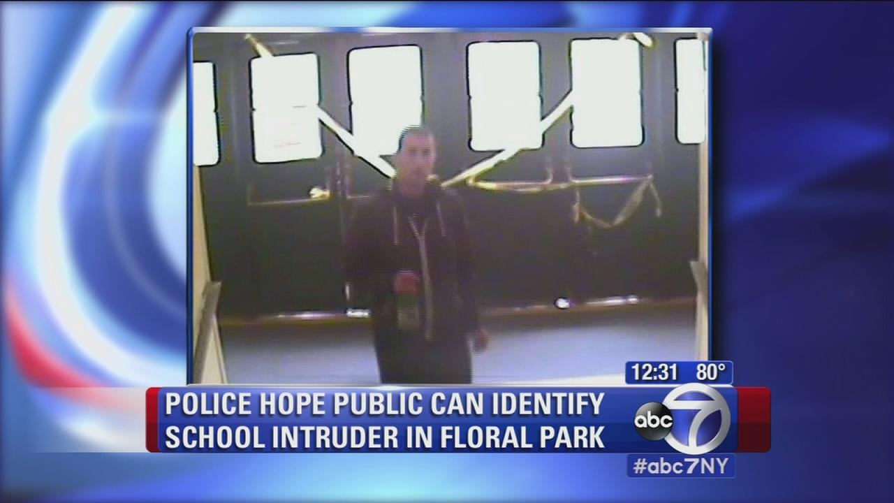 Stranger intrudes at Long Island school
