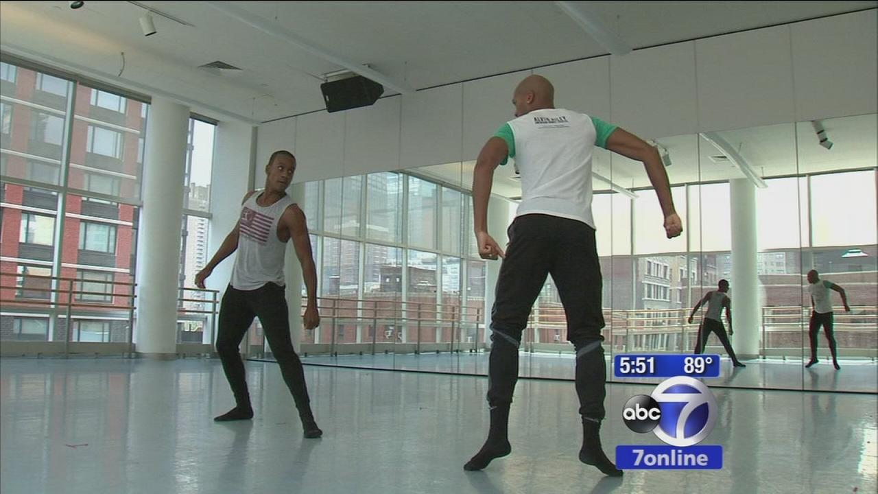 Couple says goodbye to Alvin Ailey after a decade as dancers