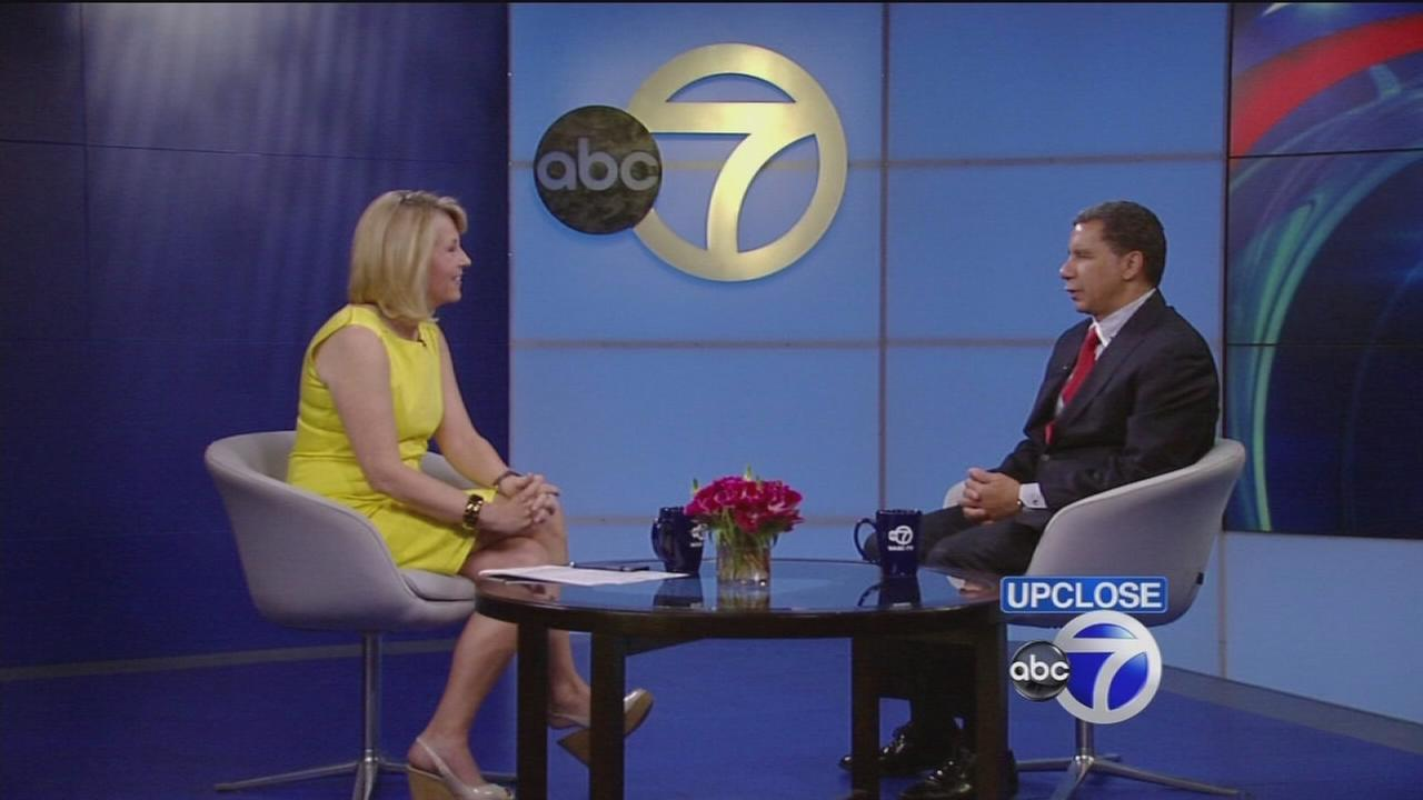 Up Close: Former NY Governor David Paterson
