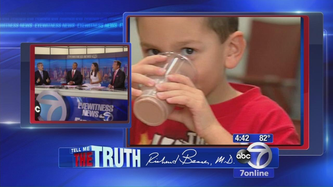 Tell Me The Truth: Chocolate milk bad for you?