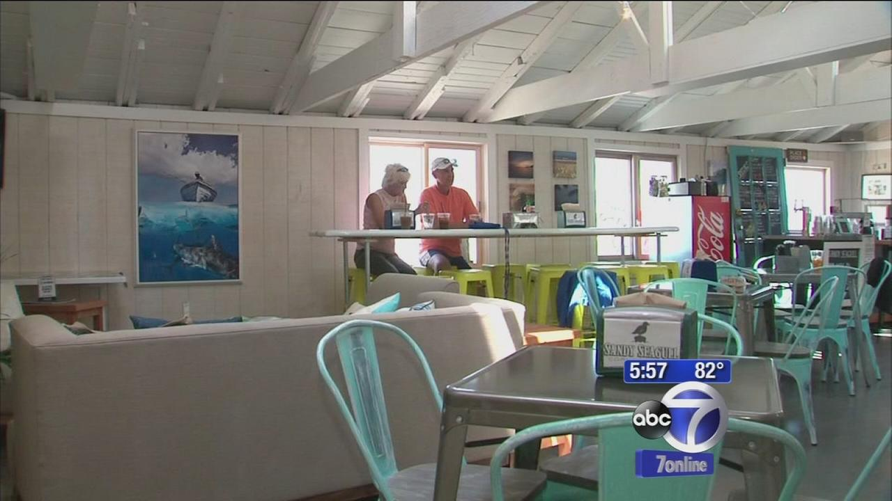 Sandy soaked restaurant pays it forward