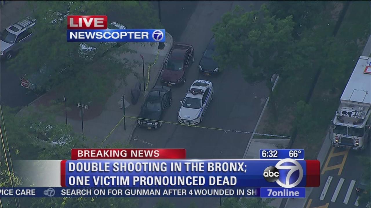 2 shot in Bronx, 1 dead