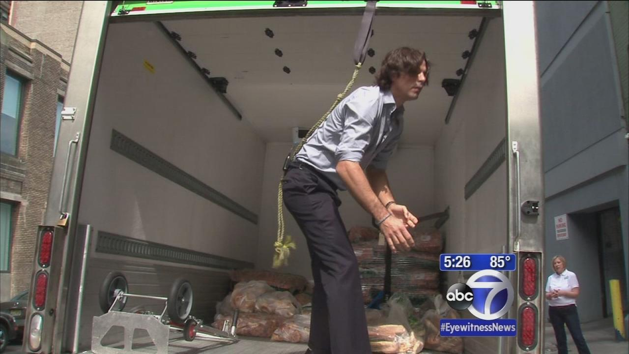 Star polo player, model delivers for New York food charity