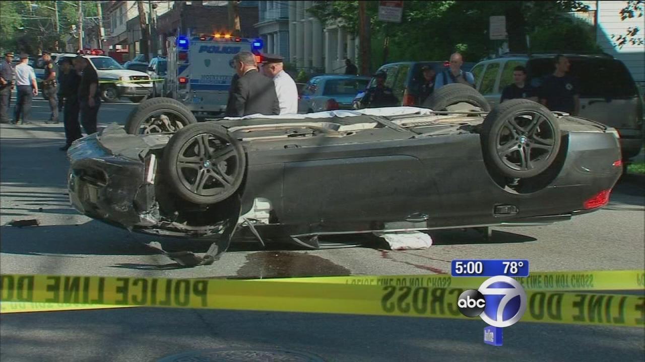 2 men found dead in flipped car in Mount Vernon were shot