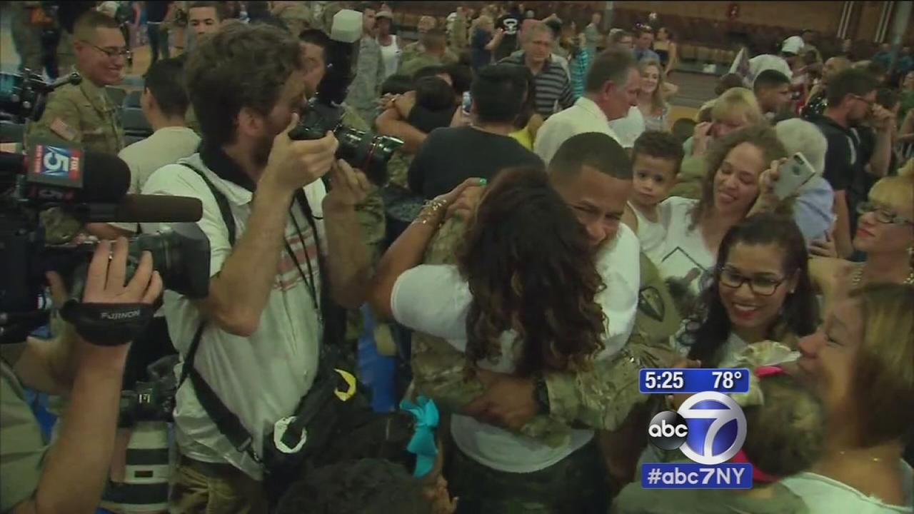 After 9 months away, National Guard returns home to New Jersey