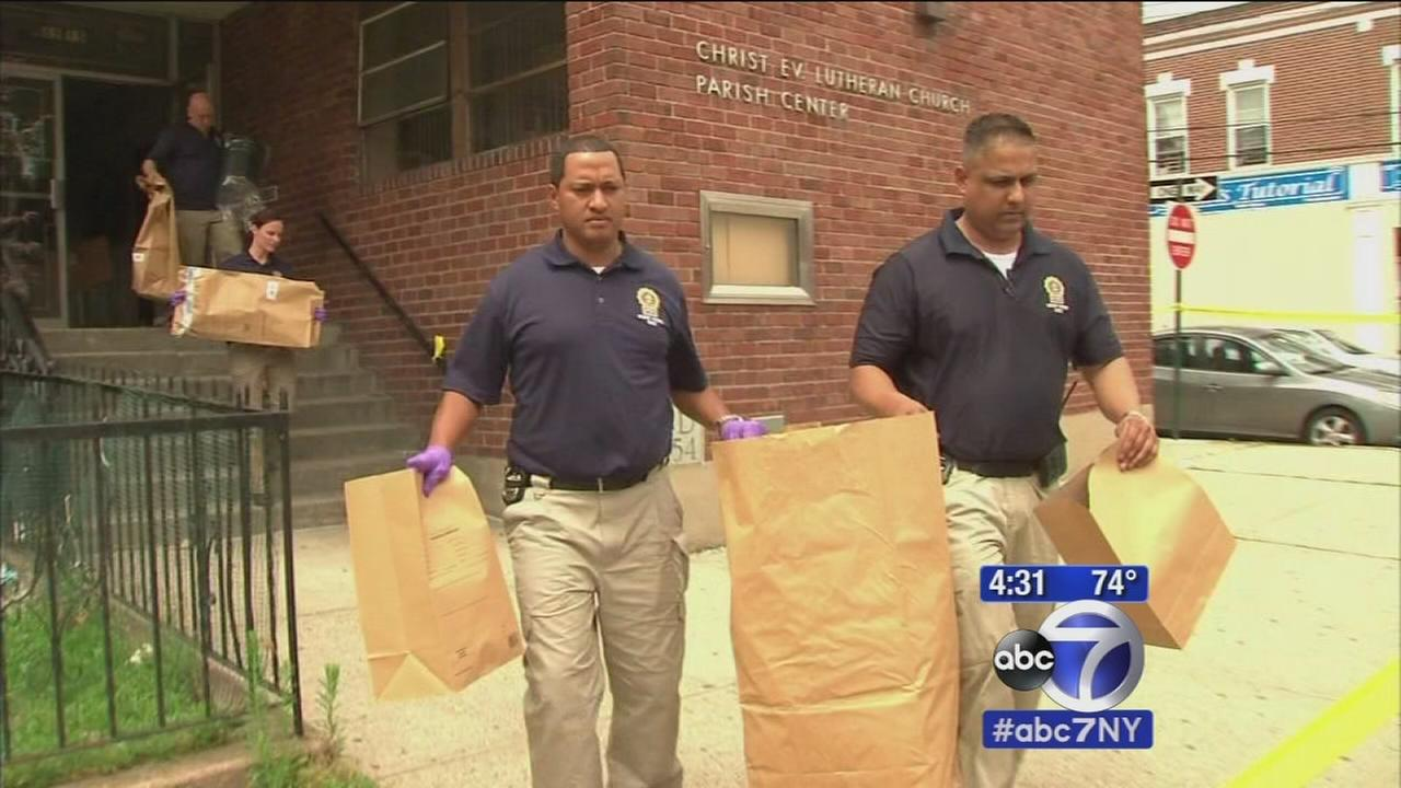 Police investigating break-in and fire, possible arson, at Queens church rec center
