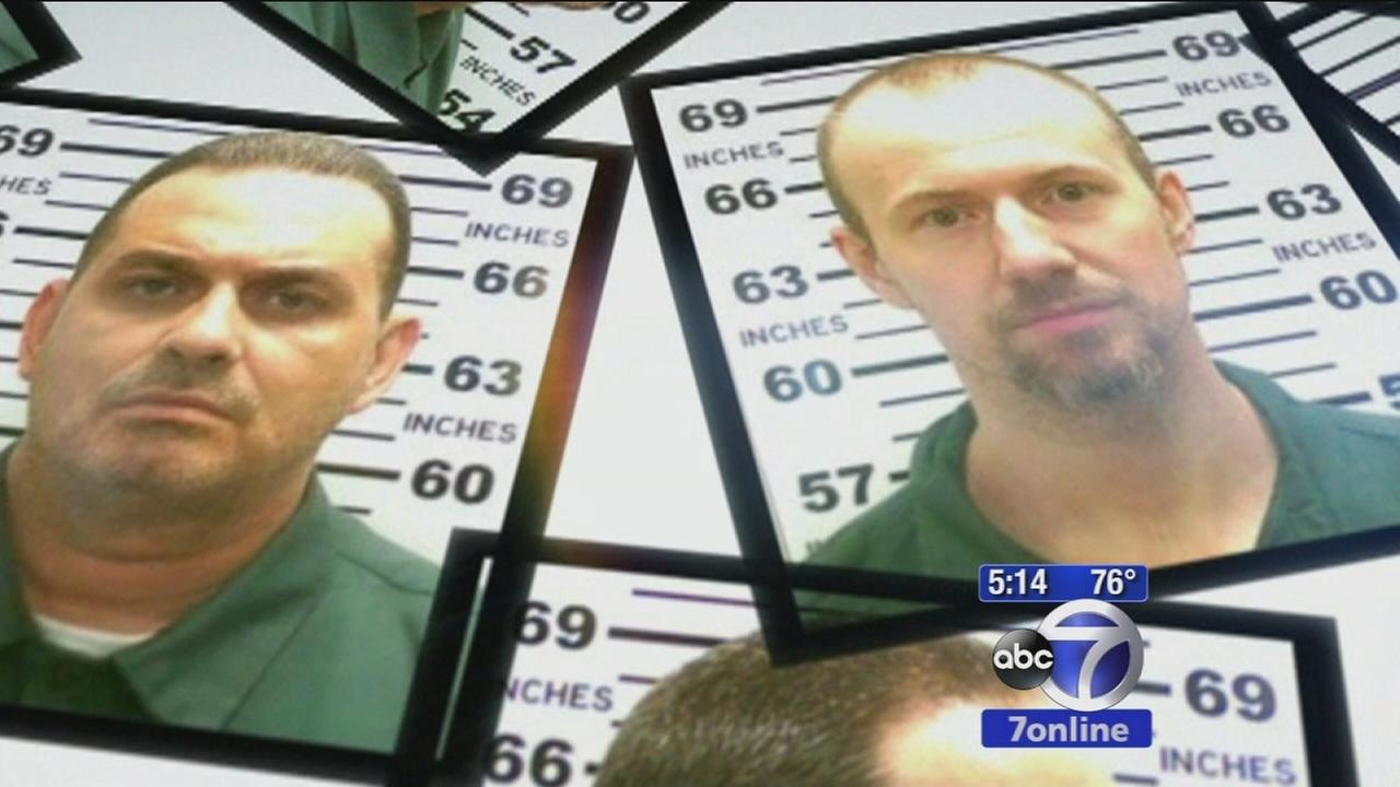 Prison escapees originally headed to Mexico
