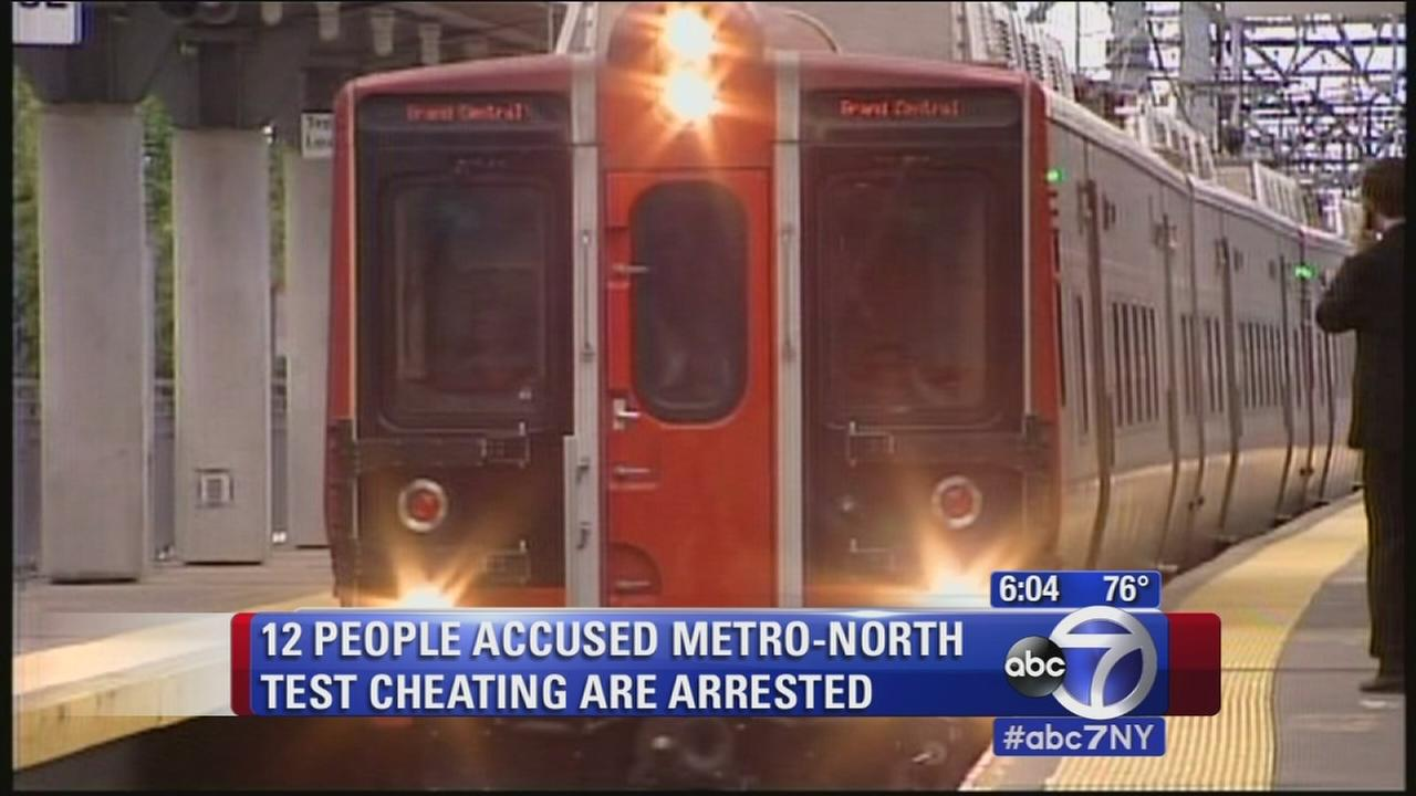More than a dozen Metro North workers accused of cheating on exams