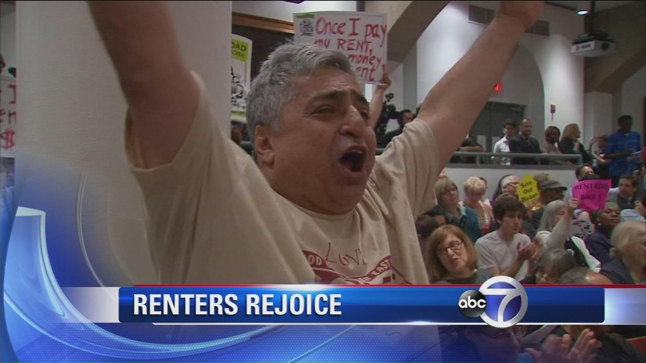 Renters rejoice, landlords lament over rent freeze for stabilized apartments