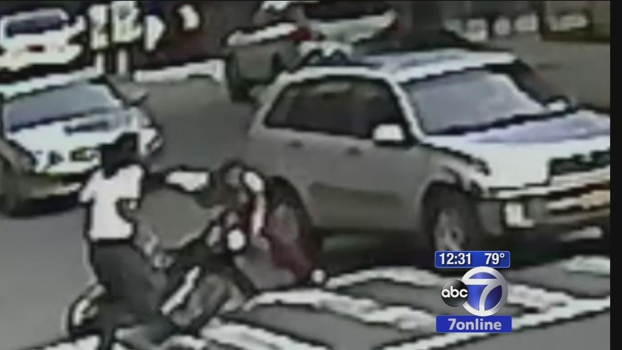 Mans dirt bike snatached out from under him in Bronx