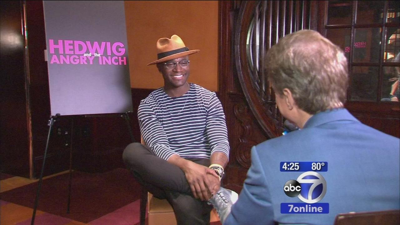 Former Broadway star Taye Diggs returns to stage in smash hit musical, Hedwig