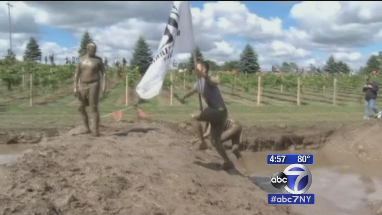 New Jersey woman suffers infection after mud run