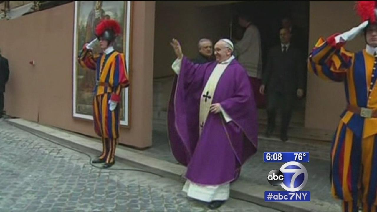 Pope Francis announces schedule for New York City visit