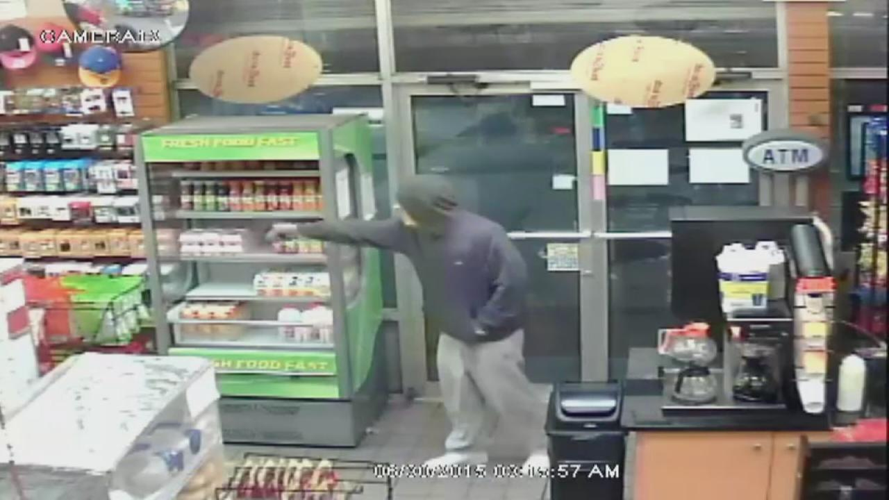 Bronx gas station robbery