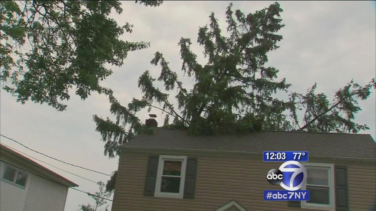 New Jersey hit hardest with overnight storms