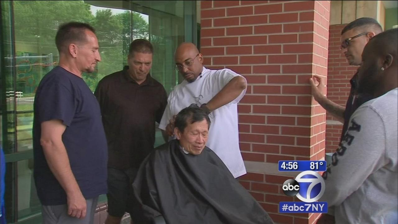 Greenburgh barber teaching unemployed men and former convicts