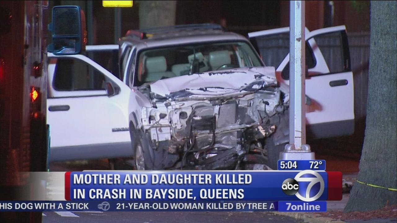 Mother, daughter dead in Bayside crash