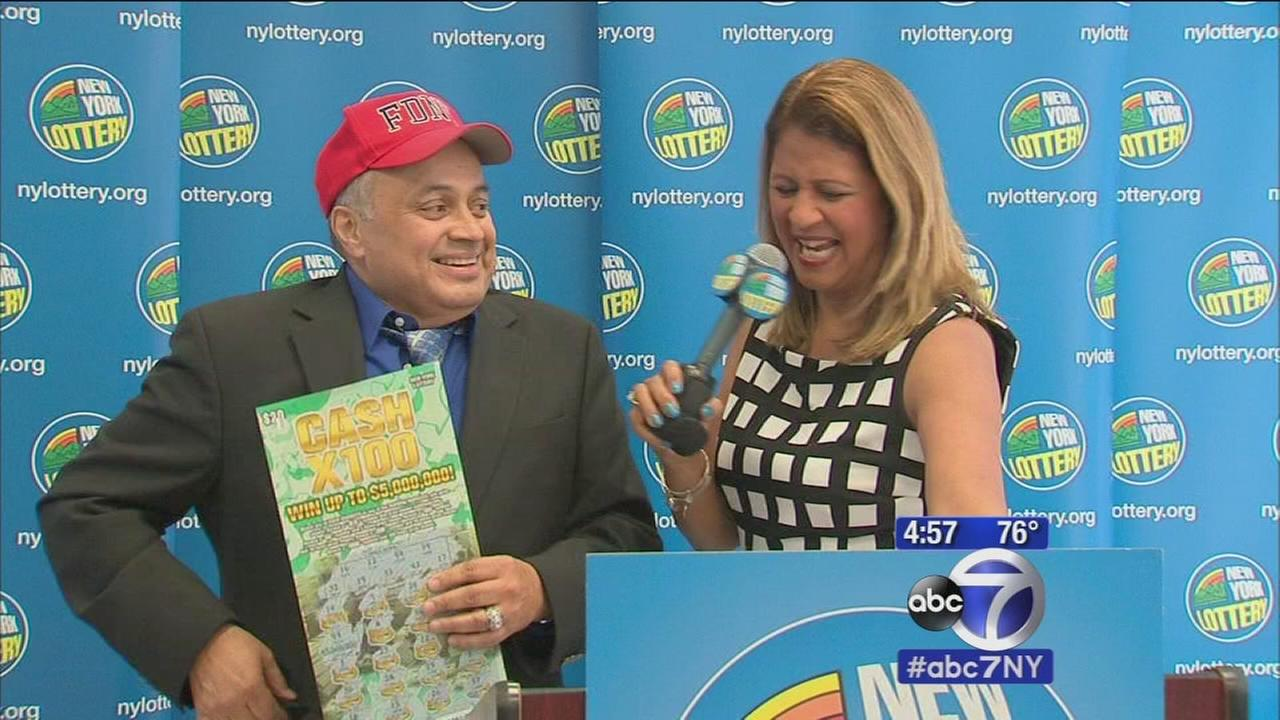 Retired FDNY firefighter wins $5 million on scratch-off lottery ticket