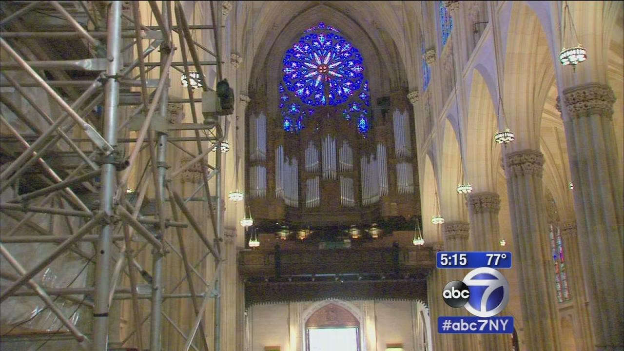 Rush to finish St. Patricks renovation ahead of popes visit
