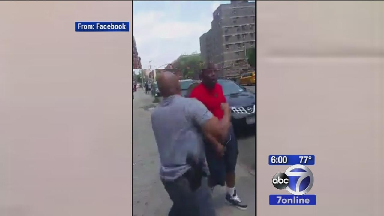 Investigation underway after video shows NYPD officer boxing with suspect