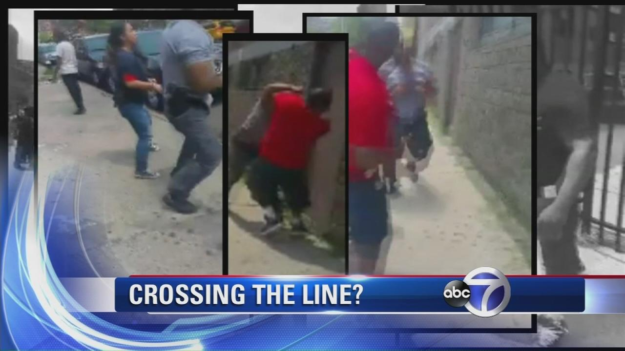 Did fist fight between officer and suspect cross a line?