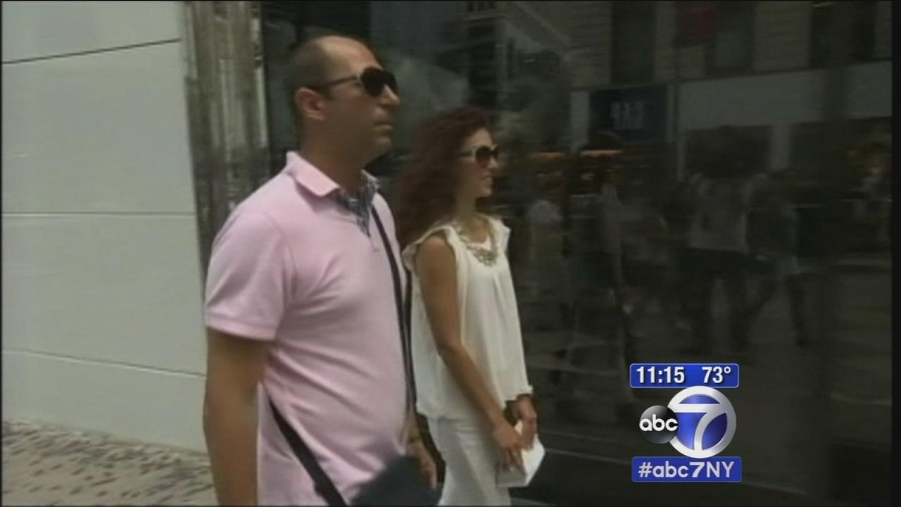 Greek couple stranded penniless in New York City amid financial crisis in Greece