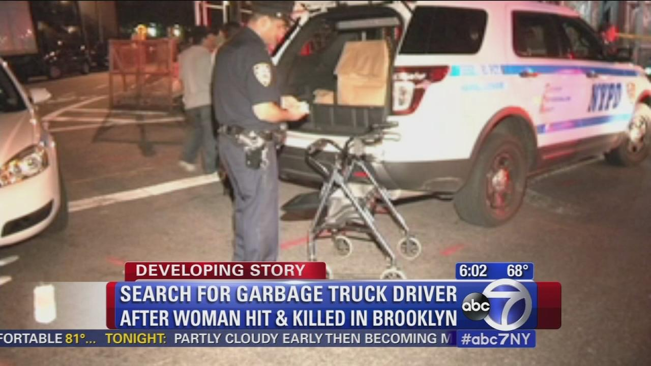 Woman hit, killed by garbage truck in Bushwick