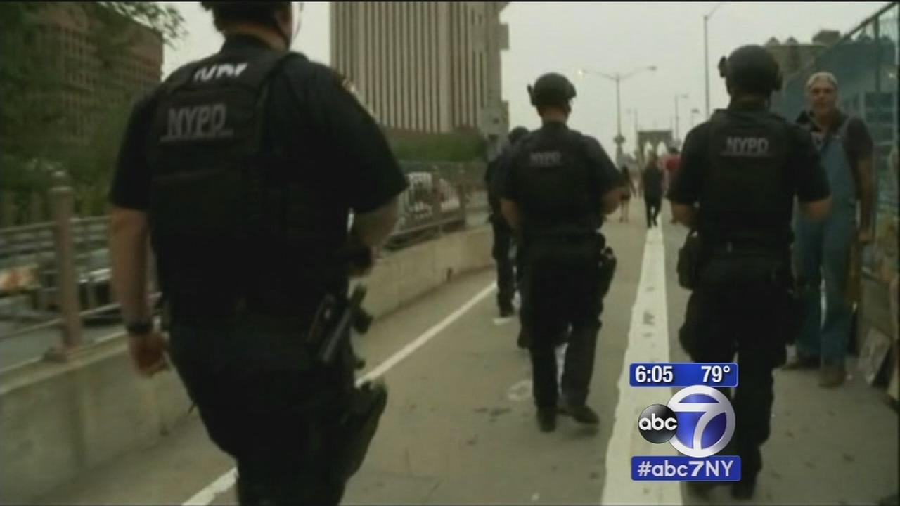 Heightened security in NY area for 4th of July weekend