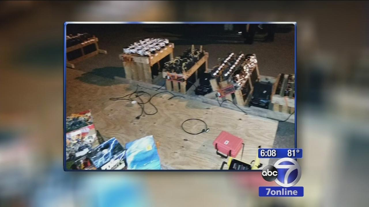 LI man charged after police seize fireworks from home