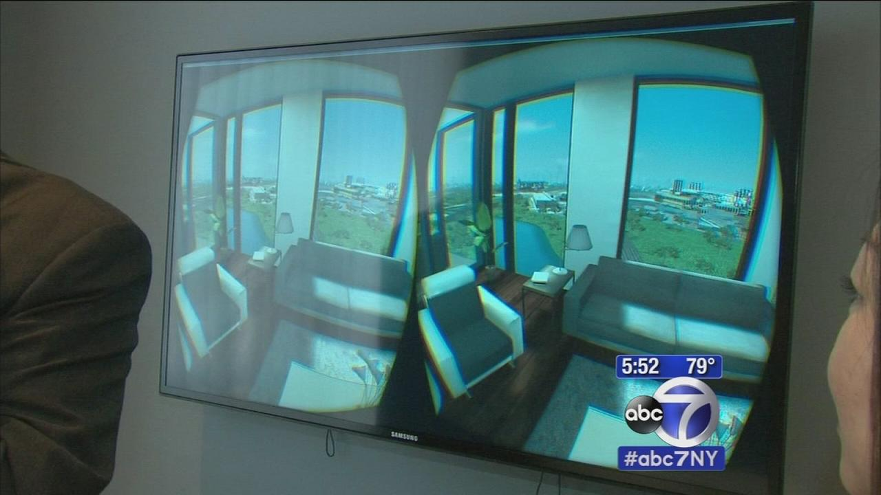 Virtual reality provides tours of Queens apartments before theyre built
