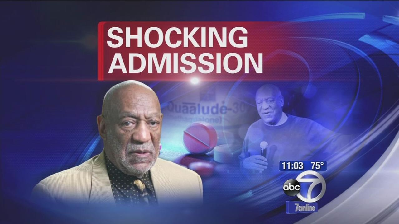 Shocking admissions by Bill Cosby about drugs for sex