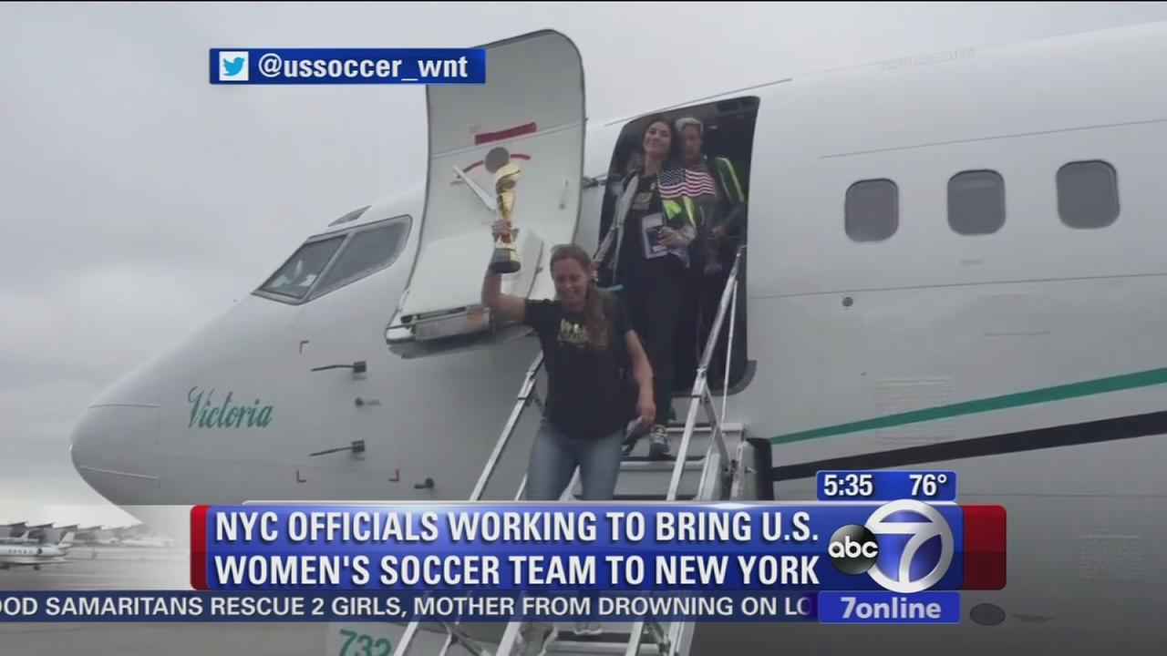 Will the World Cup champs come to NYC for a parade?