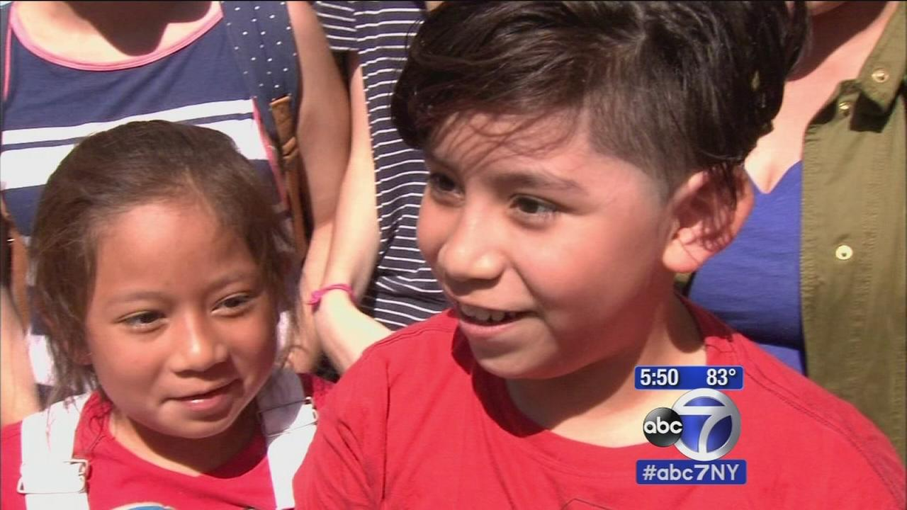 Young soccer players inspired by Team USAs victory