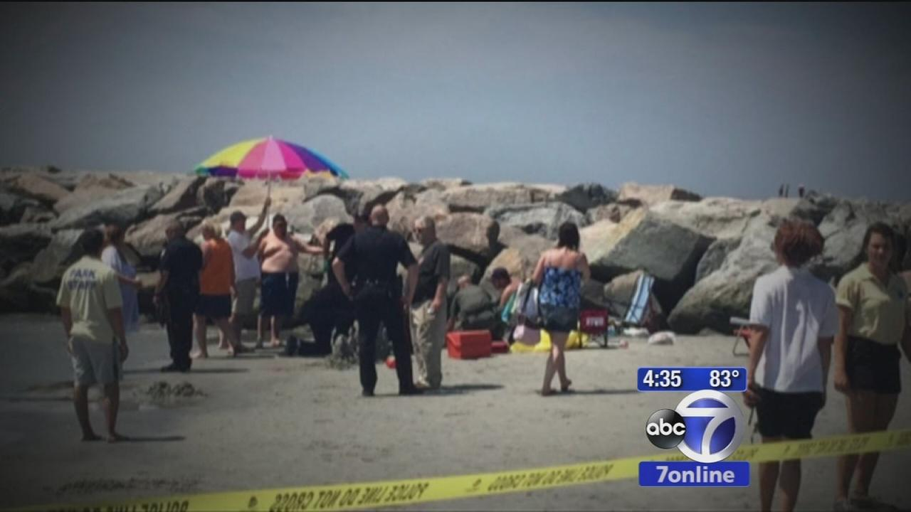 Victim in mysterious Rhode Island beach explosion speaks out