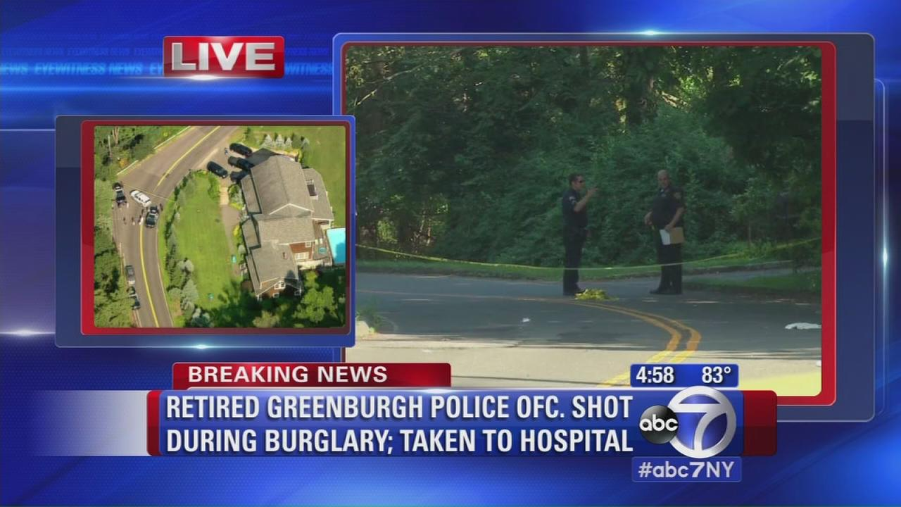 Sources: Retired police officer shot during burglary in Greenburgh